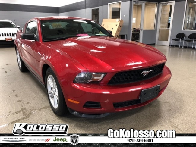 Used 2012 Ford Mustang V6 Coupe For Sale Appleton WI