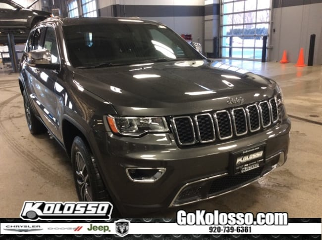 New 2019 Jeep Grand Cherokee LIMITED 4X4 Sport Utility For Sale/Lease Appleton, WI
