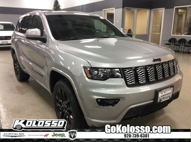 New 2019 Jeep Grand Cherokee ALTITUDE 4X4 Sport Utility For Sale/Lease Appleton, WI