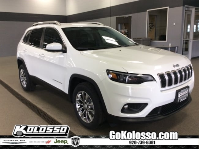 New 2019 Jeep Cherokee LATITUDE PLUS FWD Sport Utility For Sale/Lease Appleton, WI