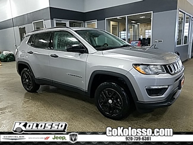 certified pre owned 2017 Jeep New Compass Sport SUV for sale appleton wi