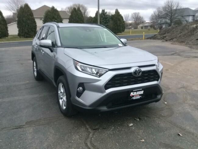 New 2019 Toyota RAV4 XLE SUV in Appleton