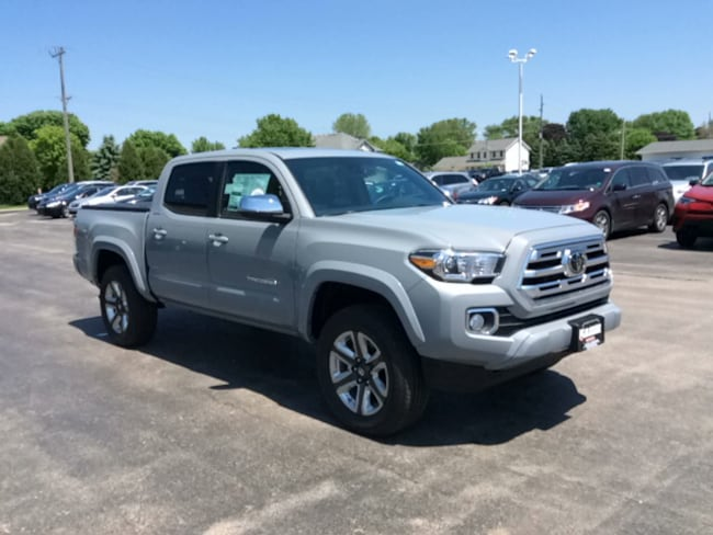 New 2019 Toyota Tacoma Limited V6 Truck Double Cab in Appleton