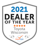 2021 Dealer of the Year Toyota Wisconsin