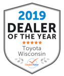 2019 Dealer of the Year Toyota Wisconsin