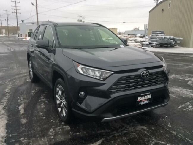New 2019 Toyota RAV4 Limited SUV in Appleton