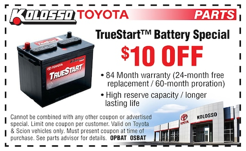 TrueStart Battery Special