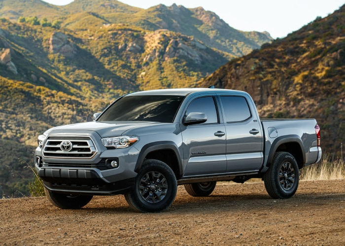New Toyota Tacoma exterior view