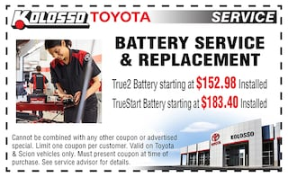 Battery Service & Replacement