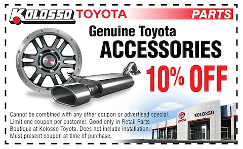 Genuine Toyota Accessories