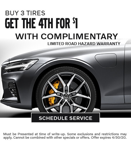 April 2020 Tires Offer - Volvo