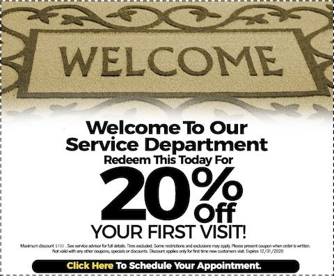 Fixed - Welcome Discount