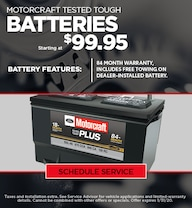 Ford Battery Special - January