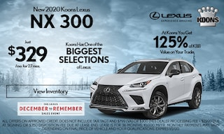 December 2020 Lexus NX 300 Offer