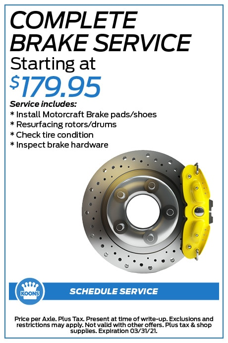 FIXED - Ford - Brakes