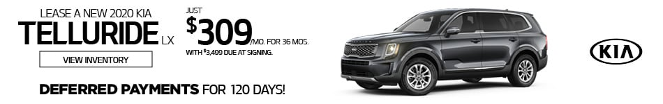Kia 0% Financing Offer - Telluride