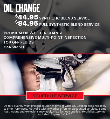February Oil Change Special - Volvo