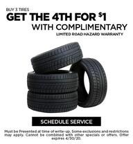 April 2020 Tires Offer - Ford
