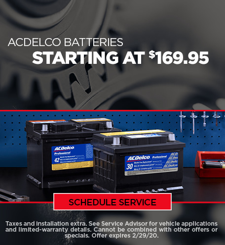 February Battery Special - Chevy