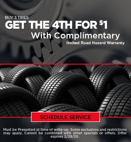 February Tire Special - Ford