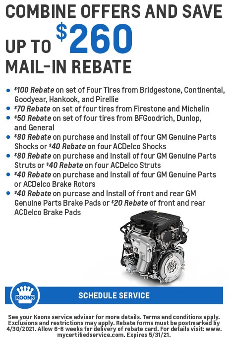 FIXED - GM - Rebate