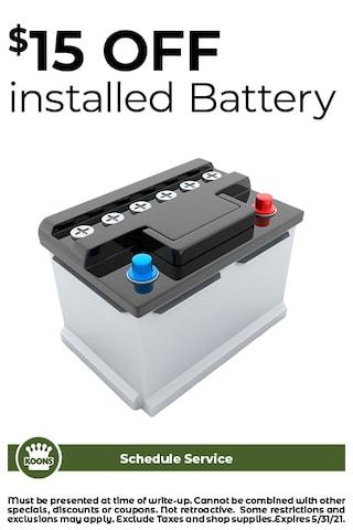 FIXED - CDJR - Battery Special