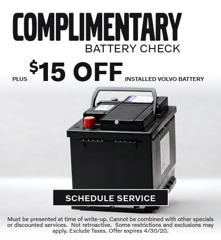 April 2020 Batteries Offer - Volvo