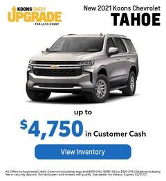 JAN - Chevy 2021 Tahoe