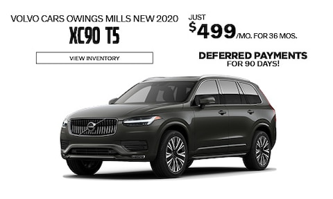 90 Days Deferred Payment - Volvo XC90