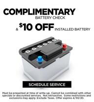 April 2020 Battery Offer - CDJR