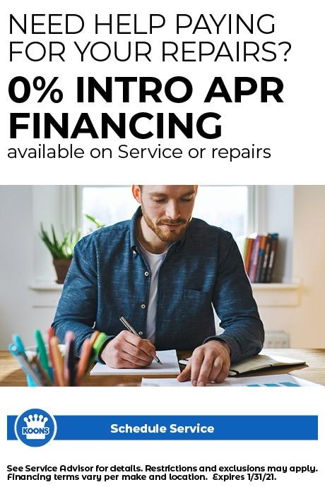 Jan - ALL (no CDJR) Need Help for Repairs 0%
