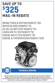FEB - GM - $325 Rebate