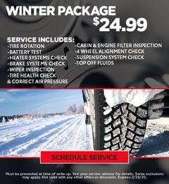 Winter Ready Package - CDJR