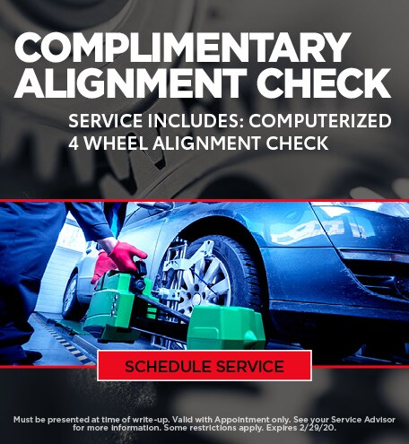 January Alignment Special - Ford/GM