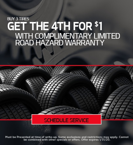 Tire Special - January