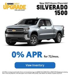 JAN - Chevy 2021 Silverado