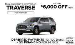 Chevy Traverse Offer - March