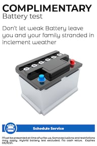 FIXED - ALL - Complimentary battery Test