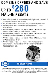 FIXED - GM - Rebate