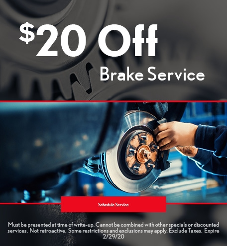 February Brake Pad Special - Lexus
