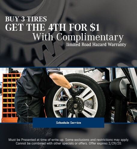 February Tire Special - Mercedes