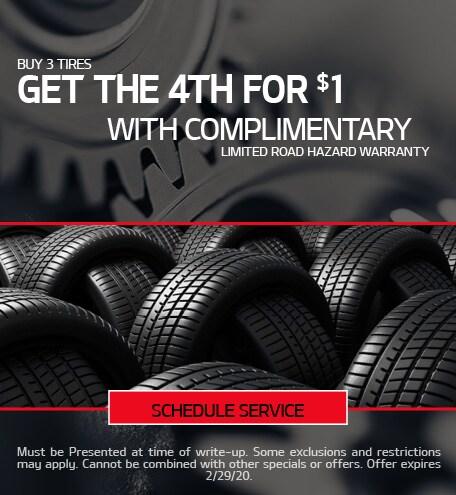 February Tire Special - Kia