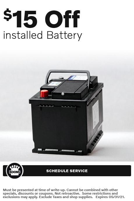 FIXED - Volvo - Battery Service