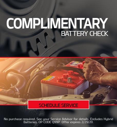 February Battery Special - Kia