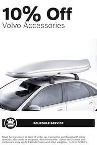 Jan - Volvo 10% off Accessories