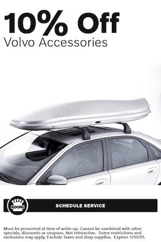 Jan - Volvo 10% off Accessories