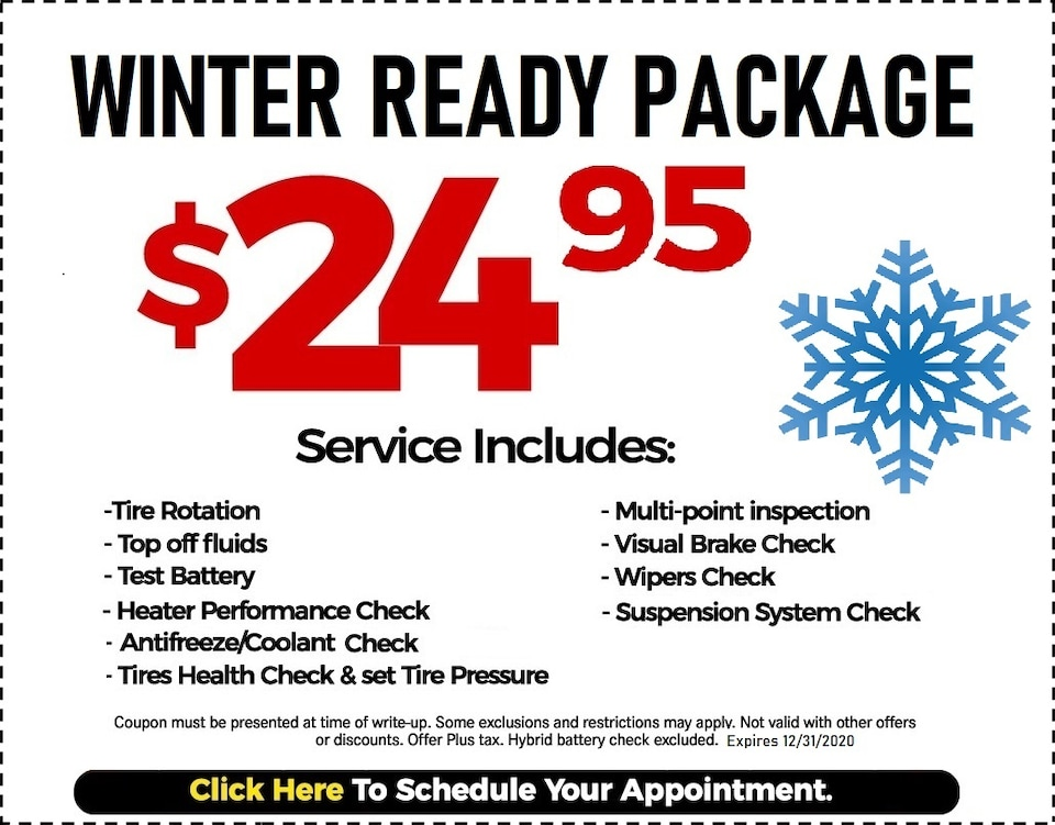 Fixed - Winter Ready Coupon