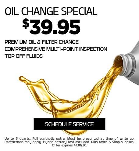 April 2020 Oil Offer - Kia
