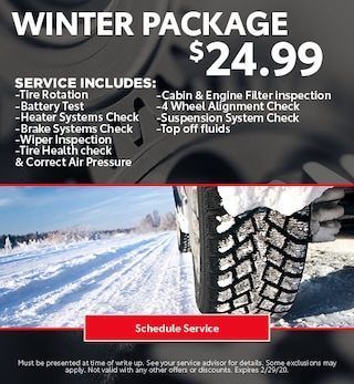 Winter Ready Package - Toyota