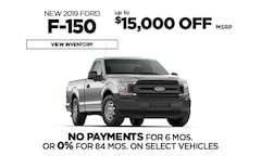 Ford 0% Financing Offer - F-150